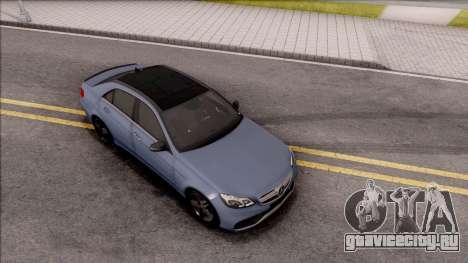 Mercedes-Benz E63 AMG v2 для GTA San Andreas вид справа