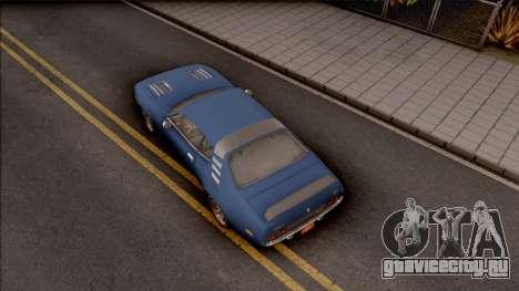 Driver PL Cerrano Final Version для GTA San Andreas вид сзади