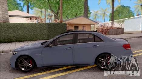 Mercedes-Benz E63 AMG v2 для GTA San Andreas вид слева