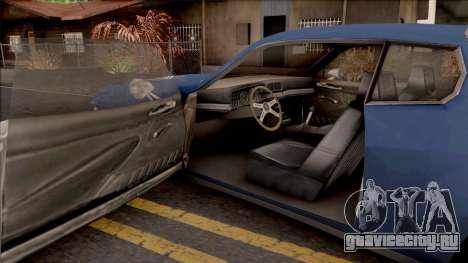 Driver PL Cerrano Final Version для GTA San Andreas вид изнутри