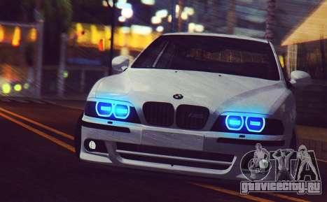BMW M5 E39 (2017 re-styling) для GTA San Andreas вид слева