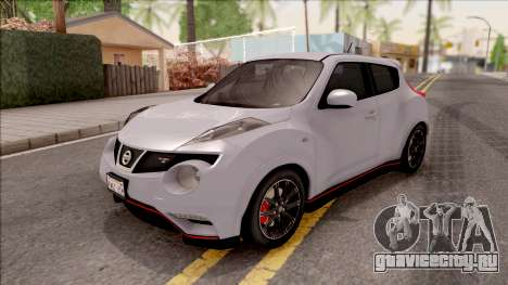 Nissan Juke Nismo RS 2014 v2 для GTA San Andreas