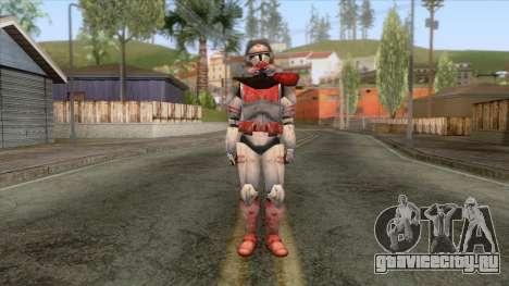 Star Wars JKA - Clone Shock Trooper Skin 2 для GTA San Andreas второй скриншот
