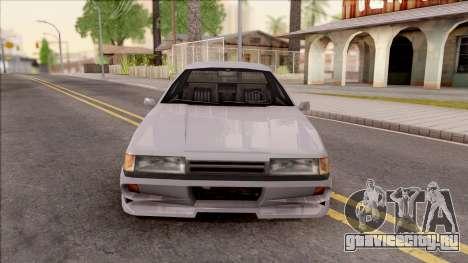 Previon S для GTA San Andreas вид изнутри