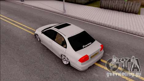 Honda Civic E.K MODS для GTA San Andreas вид сзади