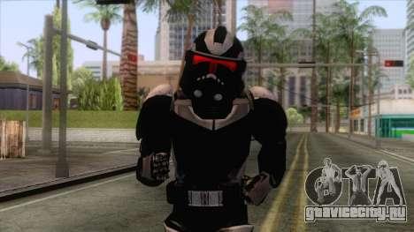 Star Wars JKA - 212th Clone Shadow Skin для GTA San Andreas
