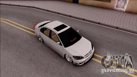 Honda Civic E.K MODS для GTA San Andreas вид справа