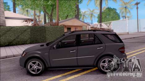 Mercedes-Benz ML 63 AMG 2009 для GTA San Andreas