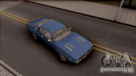 Driver PL Cerrano Final Version для GTA San Andreas вид справа