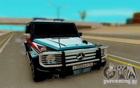 Mercedes Benz G55 AMG для GTA San Andreas