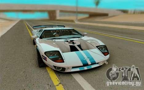 Ford GT LM Gran Turismo для GTA San Andreas