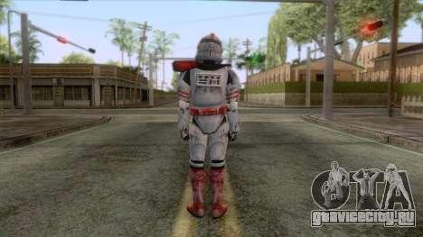 Star Wars JKA - Clone Shock Trooper Skin 2 для GTA San Andreas третий скриншот