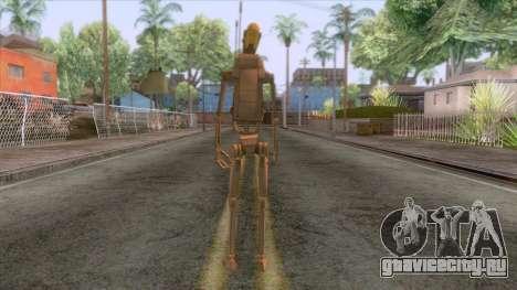 Star Wars - Droid Commander Skin для GTA San Andreas