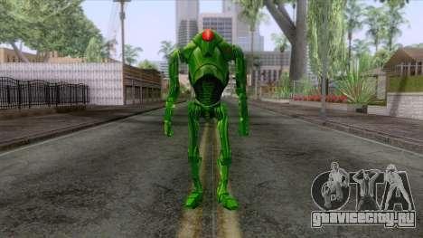 Star Wars - Green Super Battle Droid Skin для GTA San Andreas второй скриншот