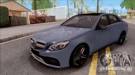 Mercedes-Benz E63 AMG v2 для GTA San Andreas