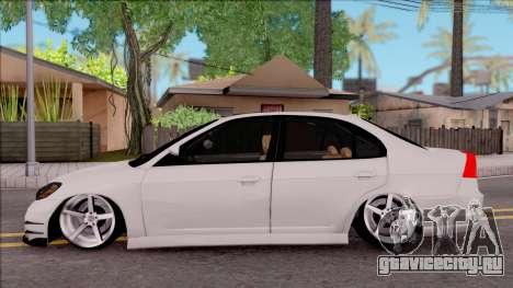 Honda Civic E.K MODS для GTA San Andreas вид слева