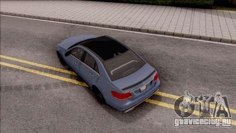 Mercedes-Benz E63 AMG v2 для GTA San Andreas вид сзади