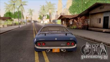 Driver PL Cerrano Final Version для GTA San Andreas вид сзади слева