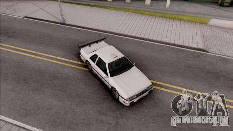 Previon S для GTA San Andreas вид снизу