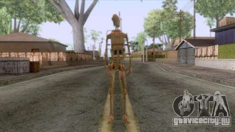 Star Wars - Battle Droid Skin для GTA San Andreas второй скриншот
