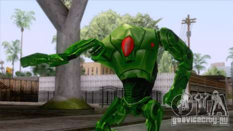Star Wars - Green Super Battle Droid Skin для GTA San Andreas
