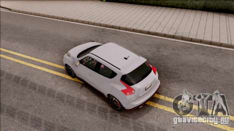Nissan Juke Nismo RS 2014 v2 для GTA San Andreas вид сзади