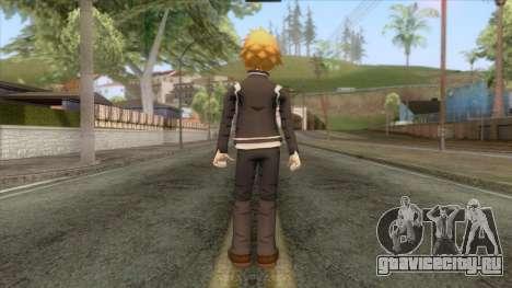 My Hero Academia - Denki Kaminari Suit Hero v2 для GTA San Andreas третий скриншот