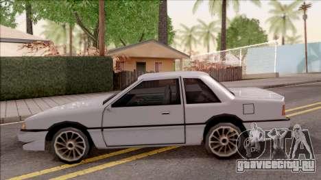 Previon S для GTA San Andreas вид слева
