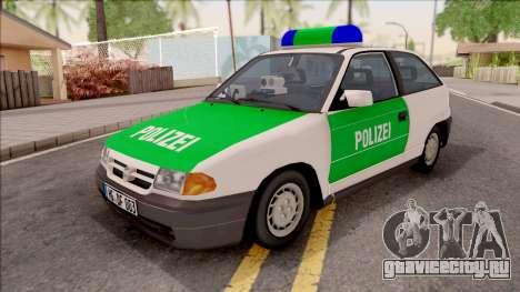 Opel Astra F Polizei для GTA San Andreas