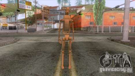 Star Wars - Battle Droid Skin для GTA San Andreas третий скриншот