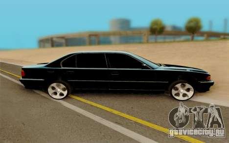 BMW 750 для GTA San Andreas вид слева