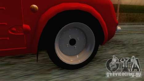 Nissan Pao для GTA San Andreas вид сзади