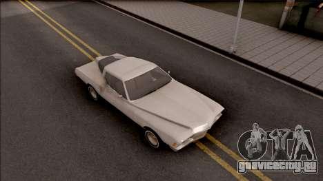 Buick Riviera 1972 Boattail Lowrider Gray для GTA San Andreas вид справа