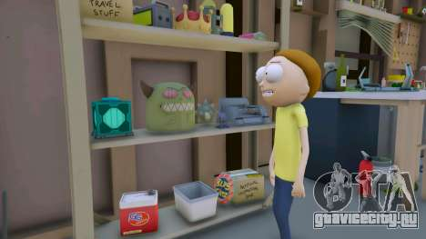 Morty Smith (Rick and Morty) [Add-On] 1.1 для GTA 5