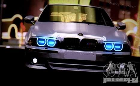 BMW M5 E39 (2017 re-styling) для GTA San Andreas вид справа