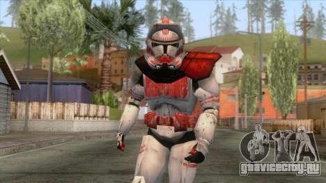 Star Wars JKA - Clone Shock Trooper Skin 2 для GTA San Andreas
