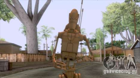 Star Wars - Battle Droid Skin для GTA San Andreas