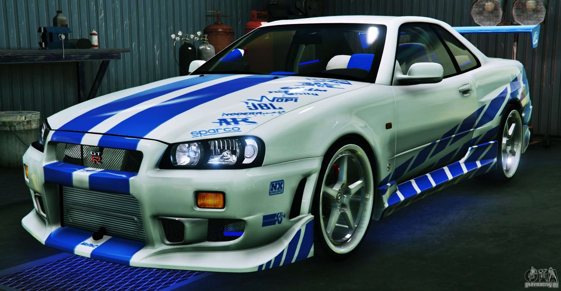 nissan skyline gt r34 3 0 gta 5. Black Bedroom Furniture Sets. Home Design Ideas