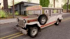 Jeepney Burrito v2 для GTA San Andreas