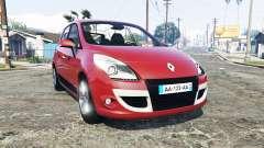 Renault Scenic (JZ) 2009 [replace] для GTA 5