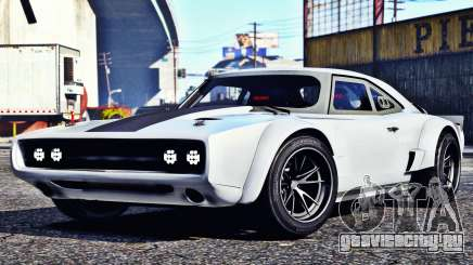 Dodge Charger Fast & Furious 8 для GTA 5