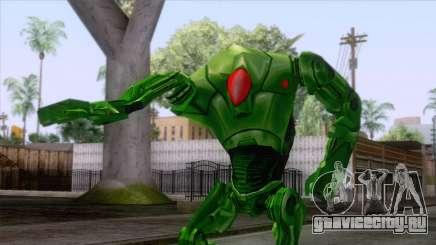 Star Wars - Green Super Battle Droid Skin для GTA San Andreas