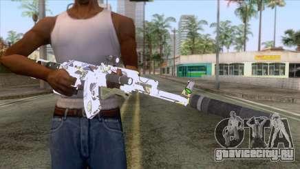 CoD: Black Ops II - AK-47 Kawaii Skin v2 для GTA San Andreas