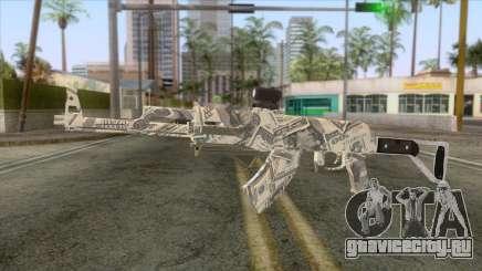 CoD: Black Ops II - AK-47 Benjamin Skin v1 для GTA San Andreas