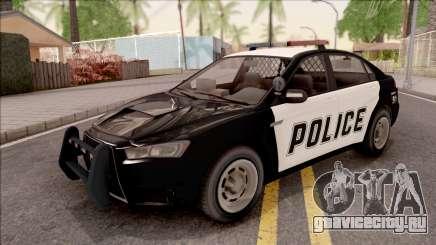 GTA V Karin Kuruma Interceptor для GTA San Andreas