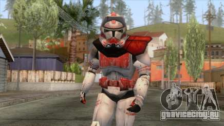 Star Wars JKA - Clone Shock Trooper Skin 2 для GTA San Andreas