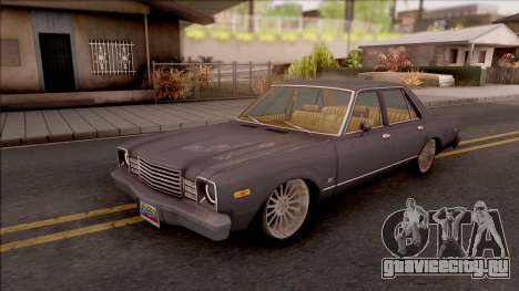 Dodge Aspen Custom для GTA San Andreas