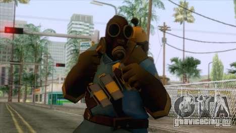 Team Fortress 2 - Pyro Skin v1 для GTA San Andreas