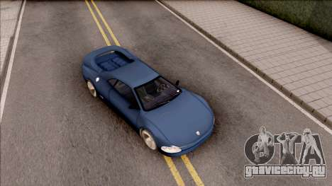 Infernus from GTA III HD для GTA San Andreas вид справа