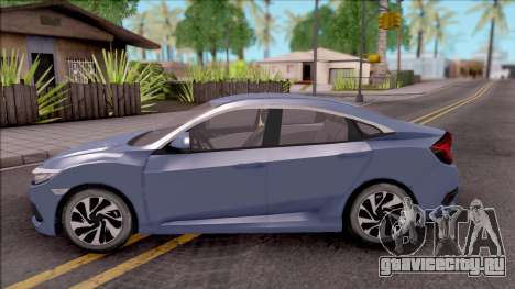 Honda Civic FC5 Low Poly with Led Lights для GTA San Andreas